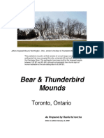 Bear & Thunderbird Mounds, Toronto, Ontario (2008)