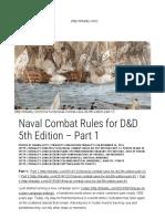 Naval Encounters
