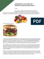 Dieta del minestrone Dimagrire con la dieta del minestrone Come funziona la dieta del minestrone