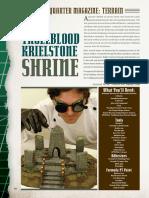 [Terrain] (NQ21) Trollblood Krielstone Shrine