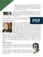 Biografia de Guatemaltecos