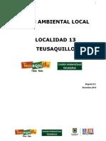 Plan Ambiental Local Bogota