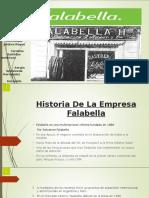Historia de La Empresa Falabella