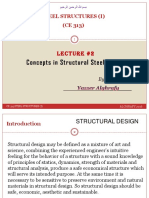 CE 313-Lecture-2(Concepts in Structural Steel Design )