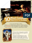 Bible Cheat Sheet