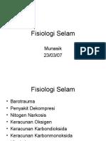 Fisiologi Selam