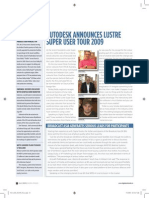 Autodesk Annouces Lustre Super Tour 2009