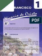 1. Francisco, Vicario de Cristo