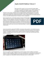 Tabletas Con Tecnología Intel®Tabletas Veloces Y Potentes