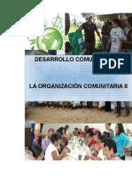 La Organización Comunitaria II