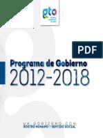 Programa de Gobierno 2012-2018 GTO.