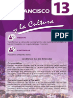 13. Francisco y la Cultura