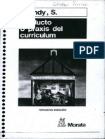 Producto o Praxis Del Curriculum