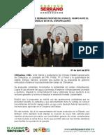 2016-04-07 Presenta Enrique Serrano Propuestas Para El Campo Ante El Consejo Estatal Agropecuario