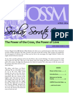 Secular Servite News, April 2016
