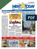 2007 Golden Ticket Awards Theme Park