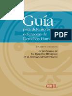 Guia Para Defensores y Defensoras de Derechos Humanos