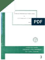 Hydraulic Properties of Porous Media, RH Brooks, 1964