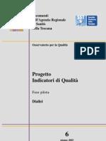 Indicatori Processo Di Dialisi