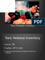 Toxin Release Inventory