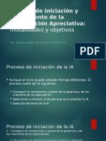 Proceso de Iniciación y Seguimiento de La Intervención