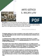 ARTE GÓTICO 2015-1 1-74