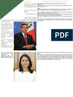 Biografía de Ollanta Humala