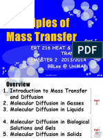1. Principle of Mass Transfer P1
