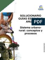 Solucionario Guía Práctica Sistema Urbano Rural Conceptos y Procesos 2013