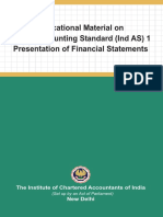Educational Material on Indian Accounting Standard Ind as 1