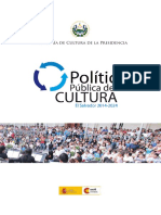 Politica Publica Cultura 2014 2024