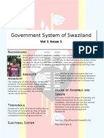 govt syst of swaziland