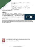 Politicas Economicas de Choque y Transicion Democratica en Argentina y Brasil