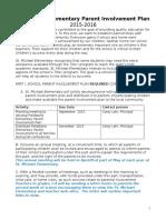 st  michael parent involvement plan 2015-2016