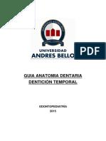 Anatomia Dentaria Temporal