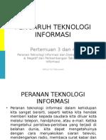 Pengaruh Teknologi Informasi Materi 3[1]