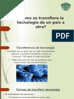 Cómo Se Transfiere La Tecnología de Un Pais a Otro
