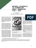 El Pensamiento Económico en La Formación Del Estado Granadino 1780 - 1830 (Primera Parte)