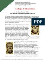 Una Genealogia de Biomecanica