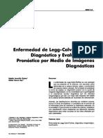 Enfermedad de Perthes Diagnostico y Evaluación Por Imagen