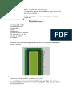 Conectando Una Pantalla LCD 1602A a Arduino UNO