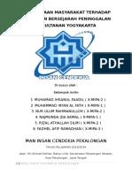 Makalah Sejarah tentang keraton Yogyakarta