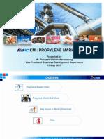 Propylene Market Analyst