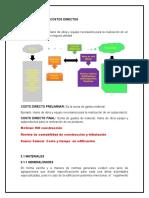 Unidad 3 Integracion de Costos Directos