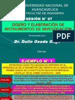 SESION N° 07 - DISEÑO Y ELABORACION DE INSTRUMENTOS DE INVESTIGACION.ppt