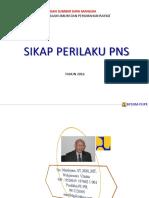Sikap Perilaku Pns Edit