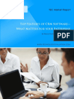 14 Top Features of CRM Software What Matters for Your Enterprise 1 202208