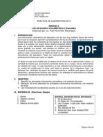 practica-03-2014 USO DE EQUIPO VOLUMÈTRICO Y BALANZA