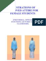 IIUM Dress Code - Female Attire