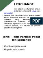 Pp Ion Exchange